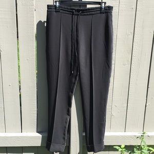 Kenzo Pleated High Rise Black Pants Size 38